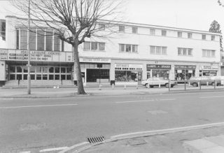 The Rex Cinema and parade of shops after the cinema was divided into 1 and 2 | Berkhamsted Local History and Museum Society cared for by the Dacorum Heritage Trust