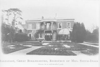 Haresfoot House, ancestral homes of the Smith Dorrien family | Dacorum Heritage Trust