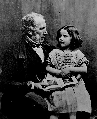 William Claridge with his daughter | Berkhamsted Local History and Museum Society cared for by the Dacorum Heritage Trust