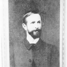 Herbert Henry Cooper (1850-1891) had been a solicitor of the supreme court prior to joining Cooper's. Unfortunately, he suffered from a lung disorder and partial paralysis of the right arm and when he died, had only completed 11 years with the firm | Berkhamsted Local History and Museum Society cared for by The Dacorum Heritage Trust Ltd