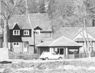 Houses built on the site of the former Northchurch Roman Villa. | Berkhamsted Local History and Museum Society cared for by Dacorum Heritage Trust Ltd