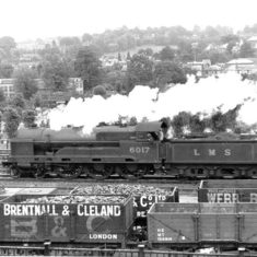 Brentnall and Cleland goods train passing through Berkhamsted   Berkhamsted Local History and Museum Society cared for by the Dacorum Heritage Trust