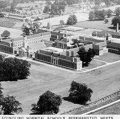 Aerial view of the Foundling Hospital | Berkhamsted Local History and Museum Society cared for by the Dacorum Heritage Trust