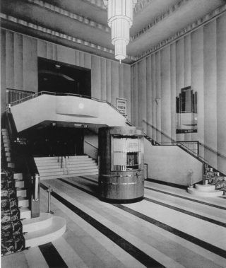 DACHT : BK 9712 The Foyer entrance of the Rex, 1930's | Berkhamsted Local History and Museum Society cared for by the Dacorum Heritage Trust