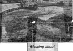 Digging out the silt in 1972