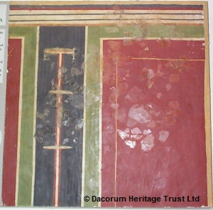 Roman wall plaster. | Dacorum Borough Council cared for by the Dacorum Heritage Trust Ltd