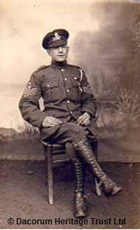 Saddler Sergeant Edwards | Dacorum Heritage Trust Ltd