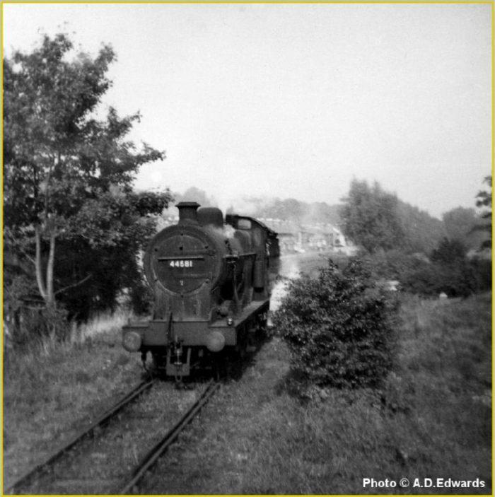 Nickey line at Heath Park Halt   Dacorum Archive