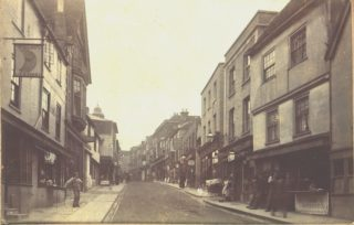 Lower end of the High Street, Hemel Hempstead, c1898 | Hemel Hempstead Local History and Museum Society cared for by the Dacorum Heritage Trust Ltd