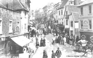 Hemel High Street - 1881   Hemel Hempstead Local History and Museum Society cared for by the Dacorum Heritage Trust Ltd