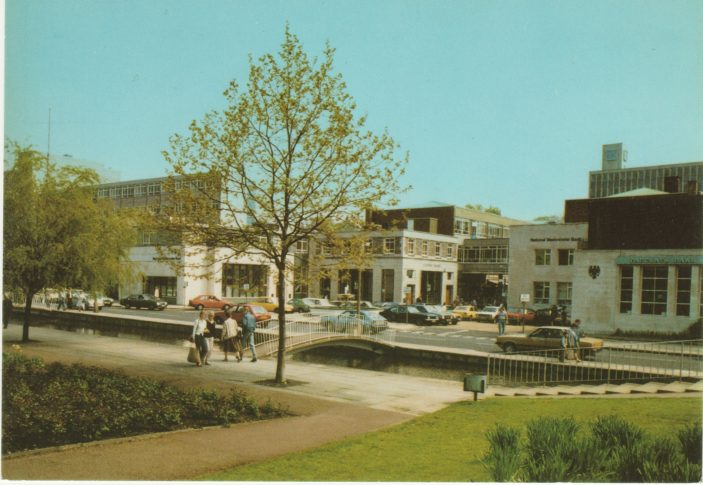 Bank Court in the 60s
