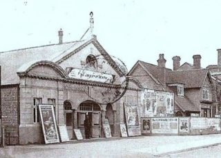 The princess cinema was nearby on the Marlowes