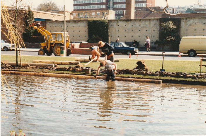 Ray Swan - the 1983 restoration