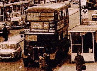 Old London Transport Double Decker Bus | Hemel Library