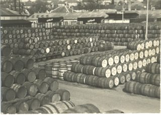 Barrels at the wharf | Hemel Hempstead Library collection