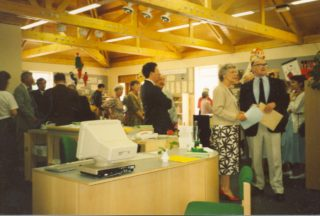 vistors to the Grand Opening | Bovingdon Library Collection