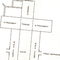 Plan of the St. Mary's Church in Hemel Hempstead | Fay Bryant